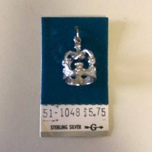 Sterling silver charm